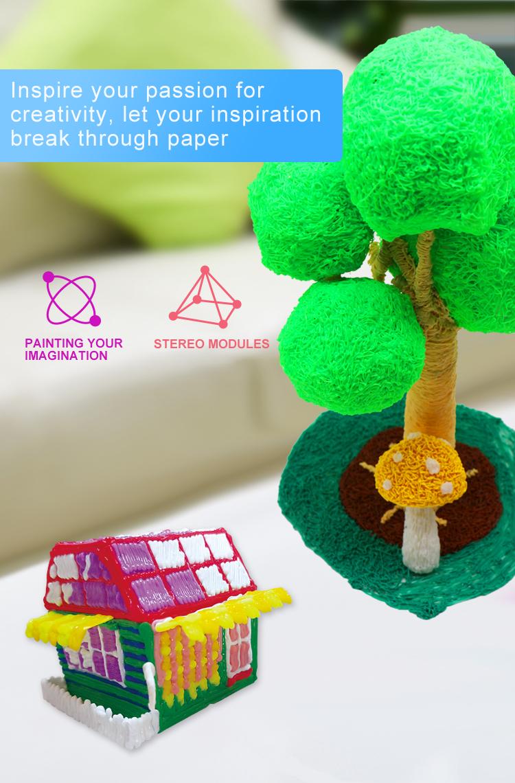Kids Ручка для 3D-печати Цифровой дисплей Интеллектуальная 3D-ручка Низкотемпературная 3D-ручка для рисования граффити с USB Развивающие игрушки Мальчик девочка Gift_03.jpg