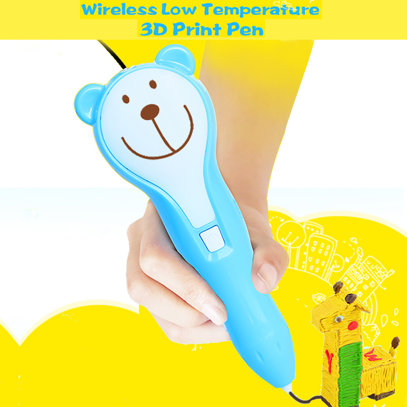 Wireless 3D Printing Pen with PCL consumable Kids Drawing Educational 3D Pen Kids Toys-1.jpg